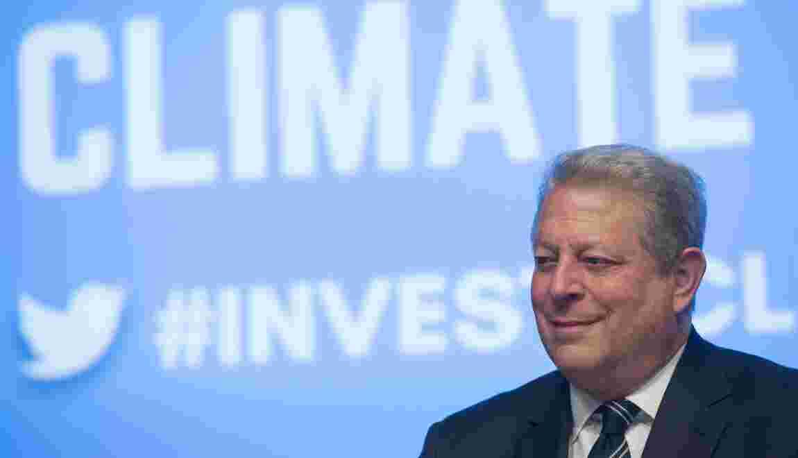 """Al Gore: """"excellentes chances"""" que les USA restent dans l'accord sur le climat"""