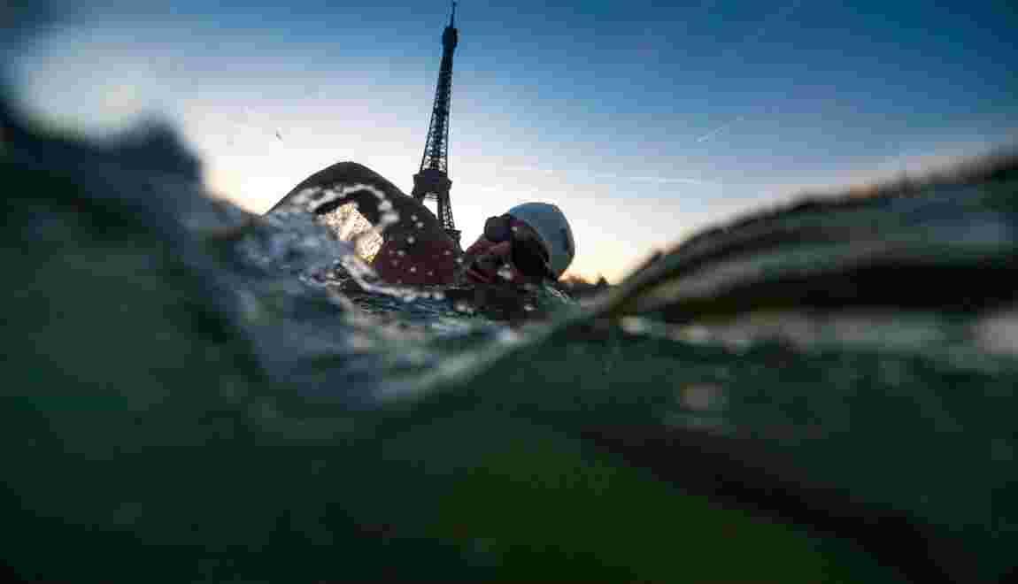 Alexandre Voyer, nageur de l'extrême