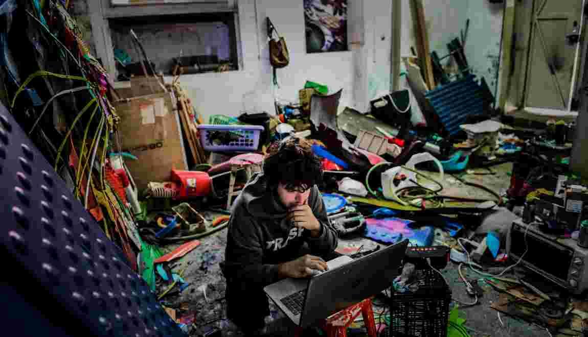 Bordalo II, artiste engagé qui transforme les déchets en art