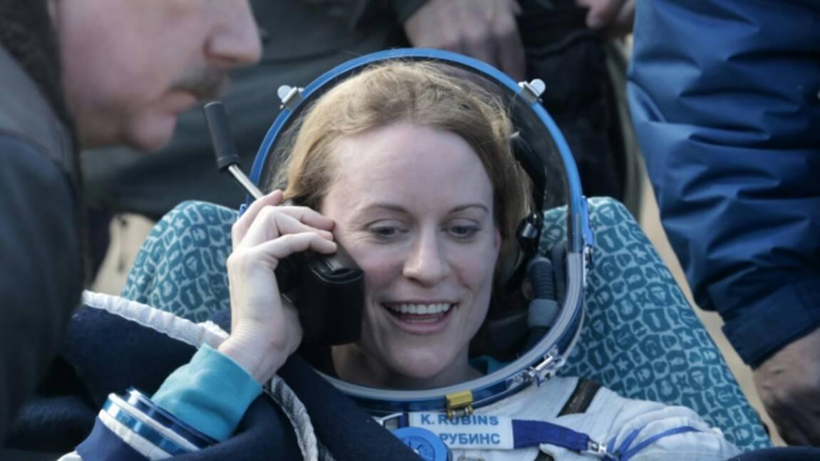 Espace: retour sur Terre de trois astronautes de l'ISS