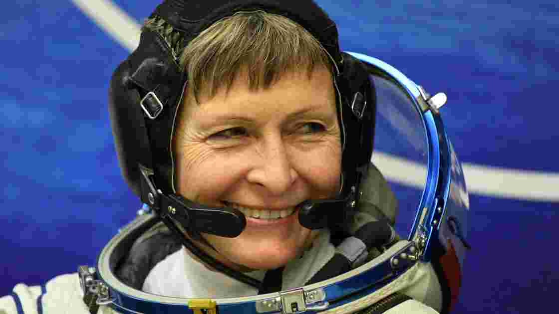 Peggy Whitson, recordwoman des sorties dans l'espace