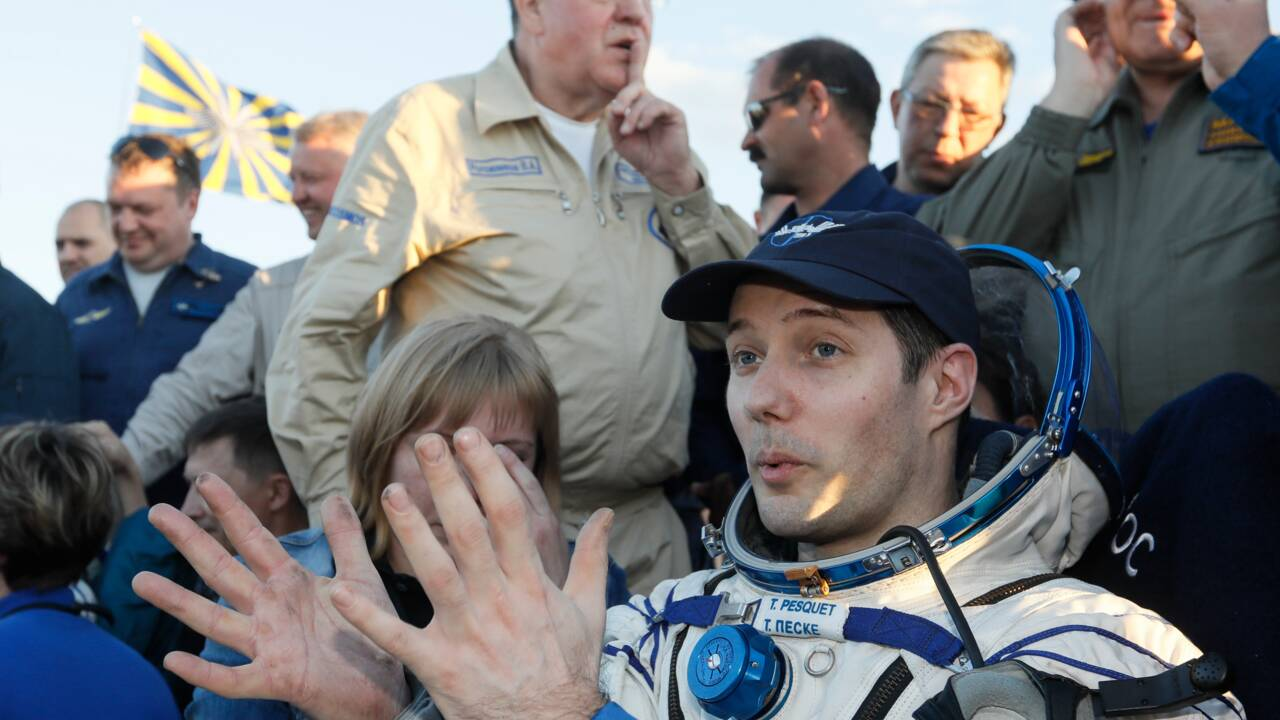 Retour sur Terre réussi pour Pesquet et son collègue russe