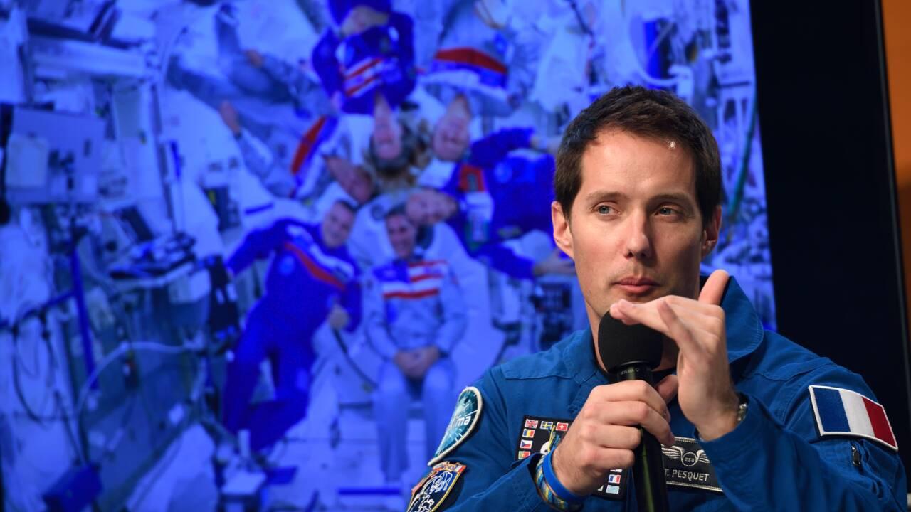 """""""Immense succès"""" des expérimentations de Pesquet dans l'ISS"""