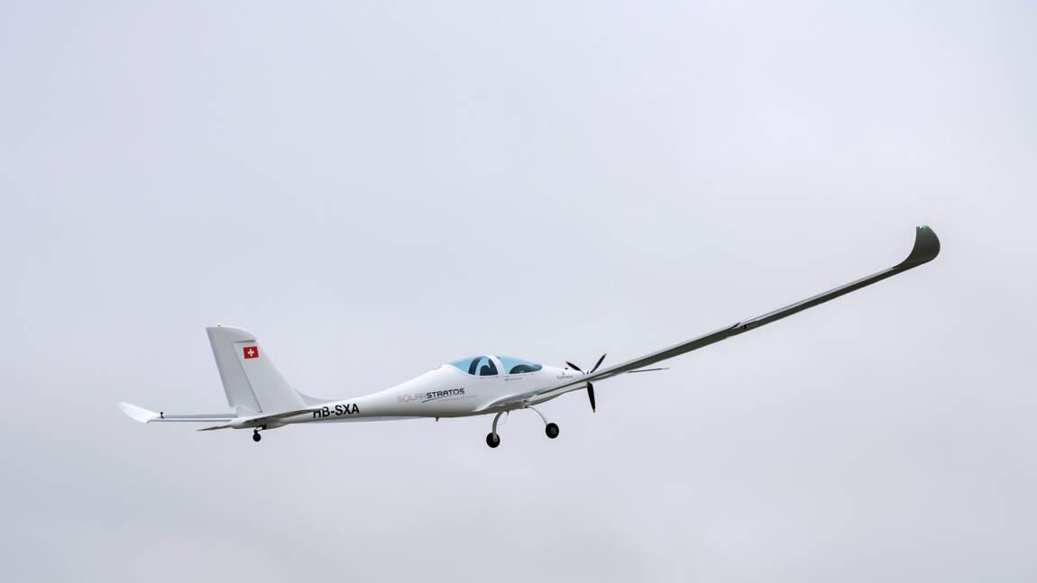 Premier vol test de l'avion solaire conçu pour la stratosphère
