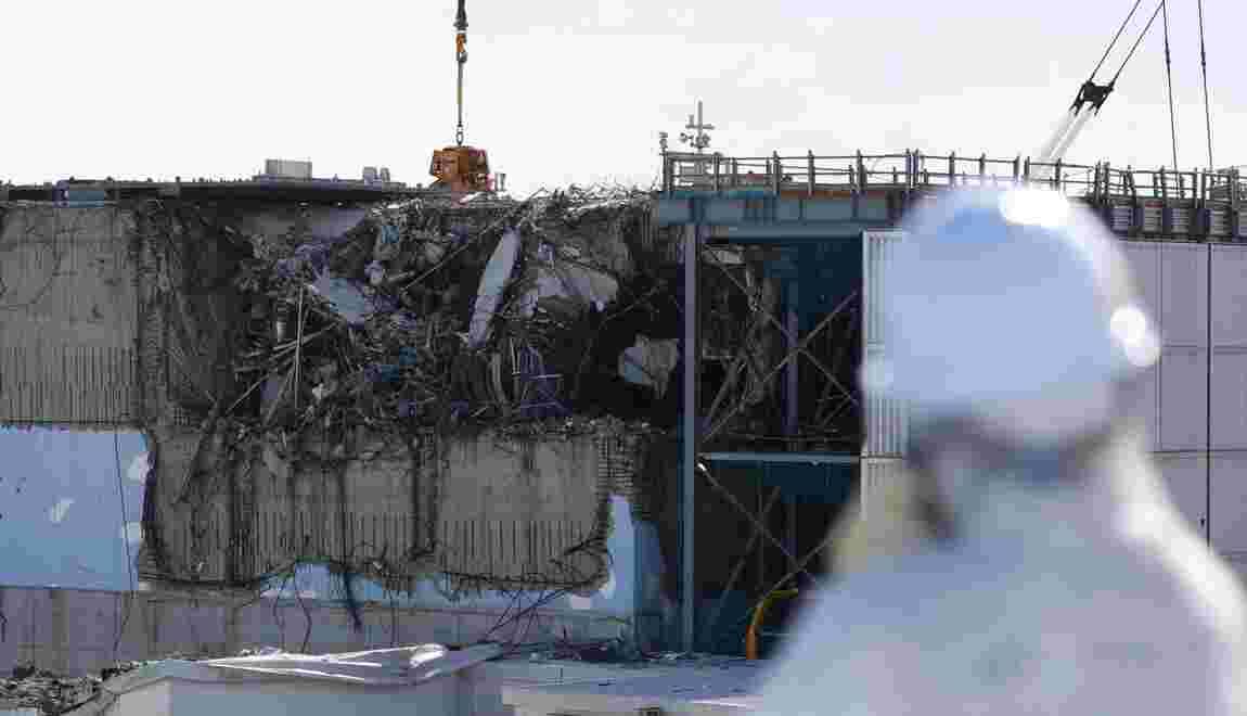 Fukushima: un robot inspecte un réacteur saccagé