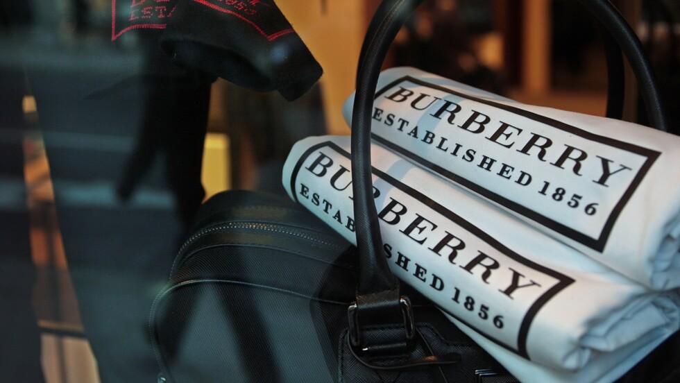 Burberry brûle pour plus de 30 millions d'euros de produits