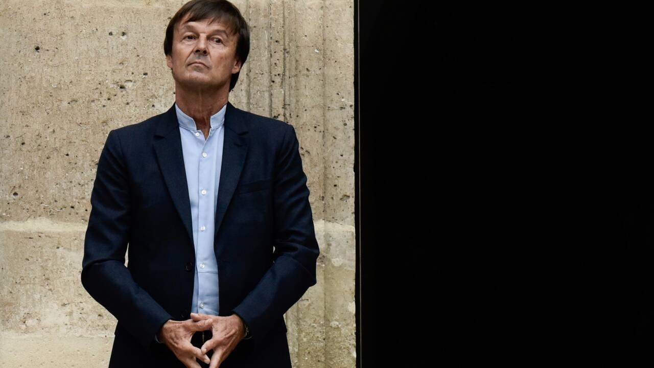"""Nicolas Hulot n'a """"pas de livre en préparation"""""""