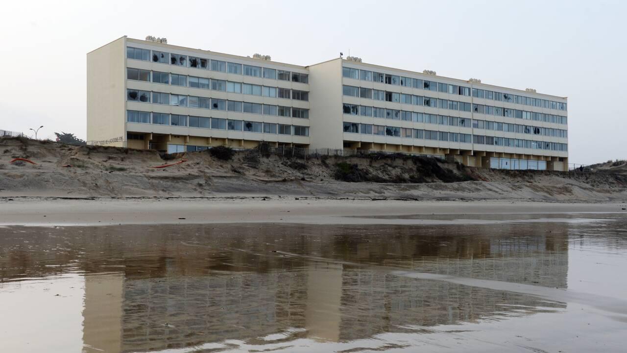 Erosion à Soulac-sur-mer: les propriétaires d'un immeuble déboutés