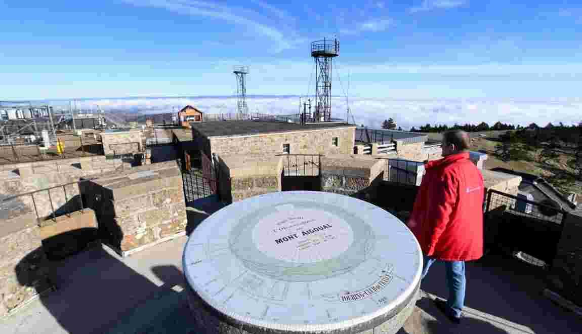 L'observatoire météo du Mont Aigoual, grand témoin du changement climatique