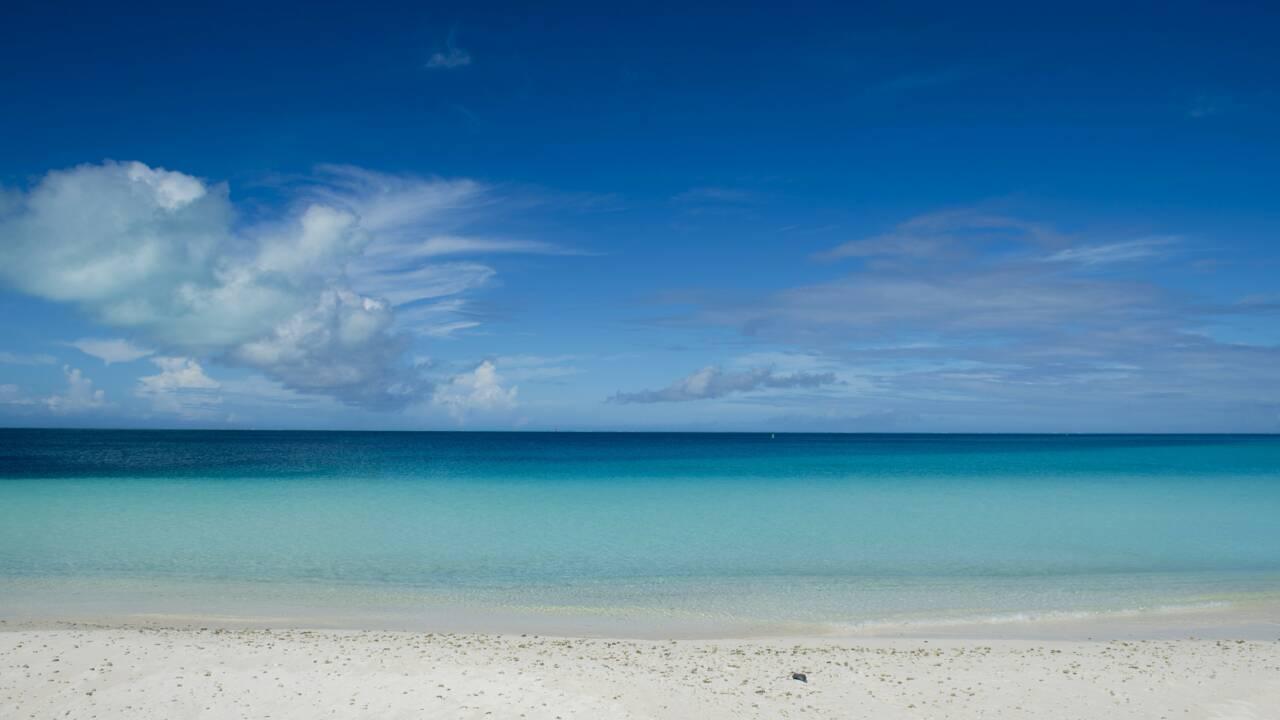 Une petite île du Pacifique engloutie par les eaux
