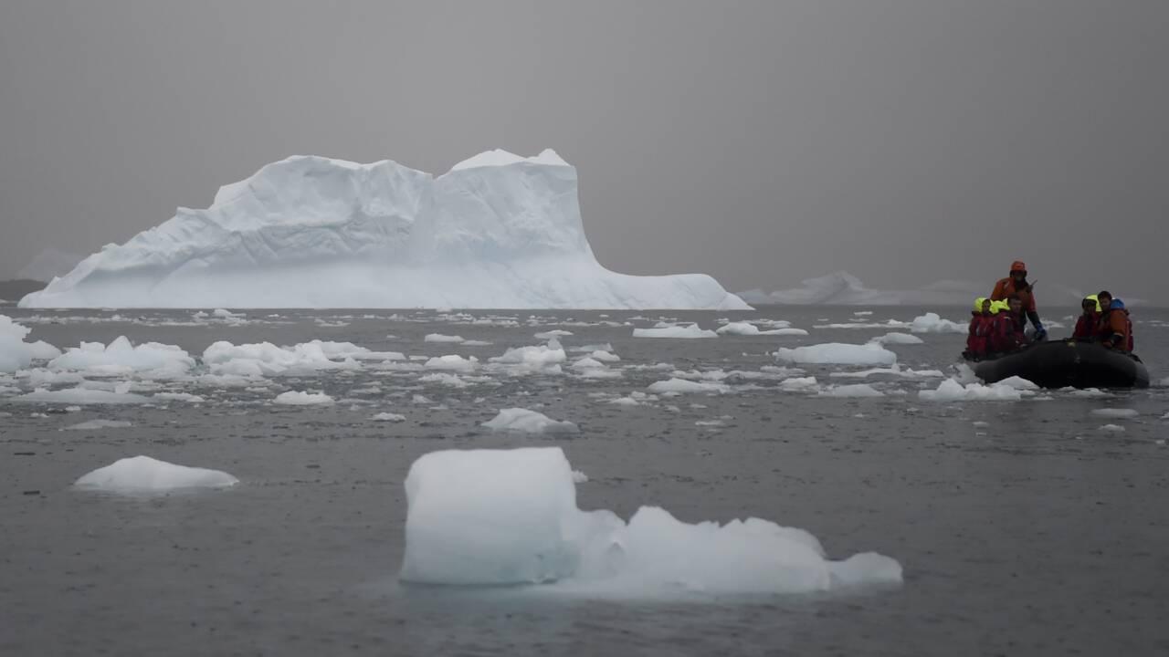 Climat: publication des records de chaleur en Antarctique