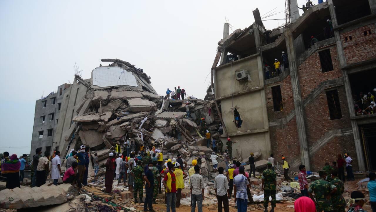 """Rana Plaza: une loi impose """"un devoir de vigilance"""" aux grandes firmes"""