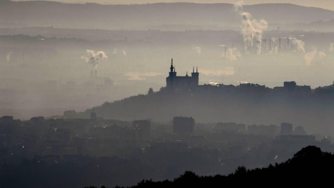 Pollution à Lyon: la circulation différenciée est renforcée
