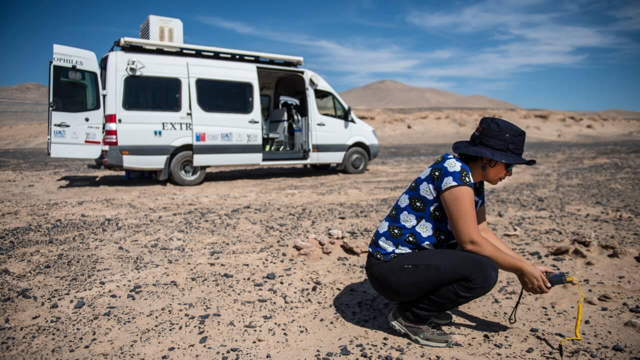 Semblable à Mars, le désert d'Atacama fascine les scientifiques