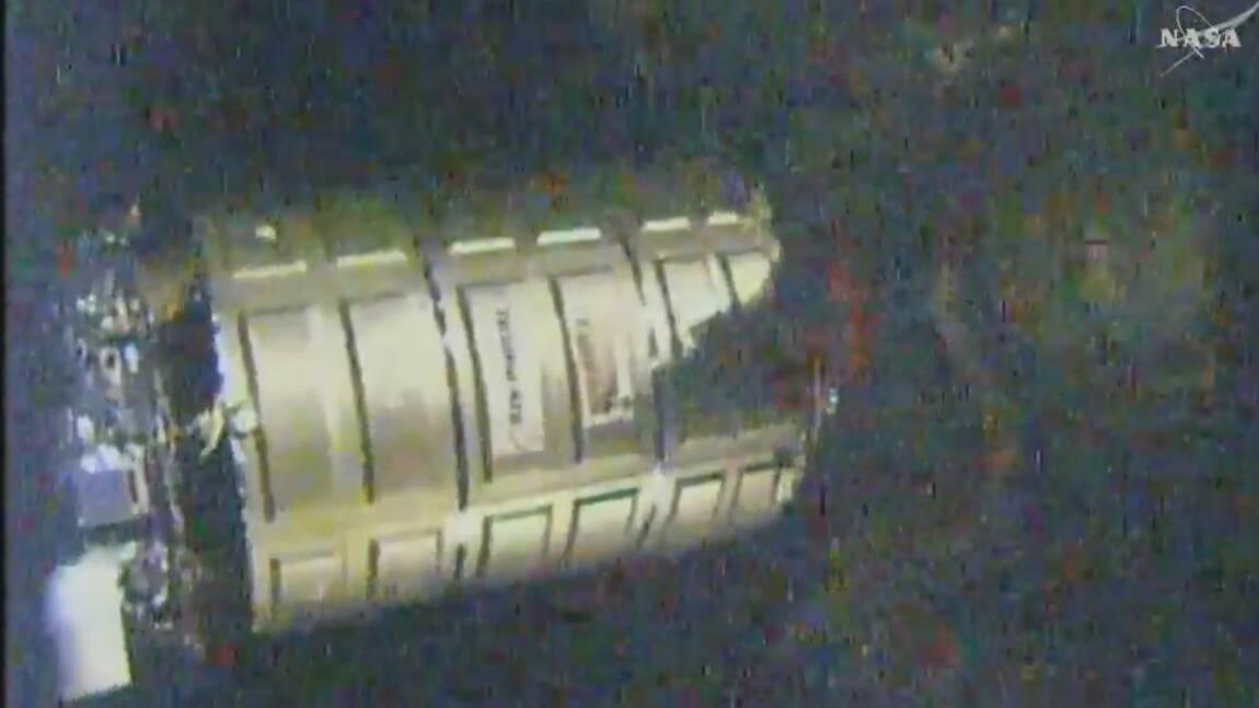 Lancement de la capsule Cygnus d'Orbital ATK vers la Station Spatiale