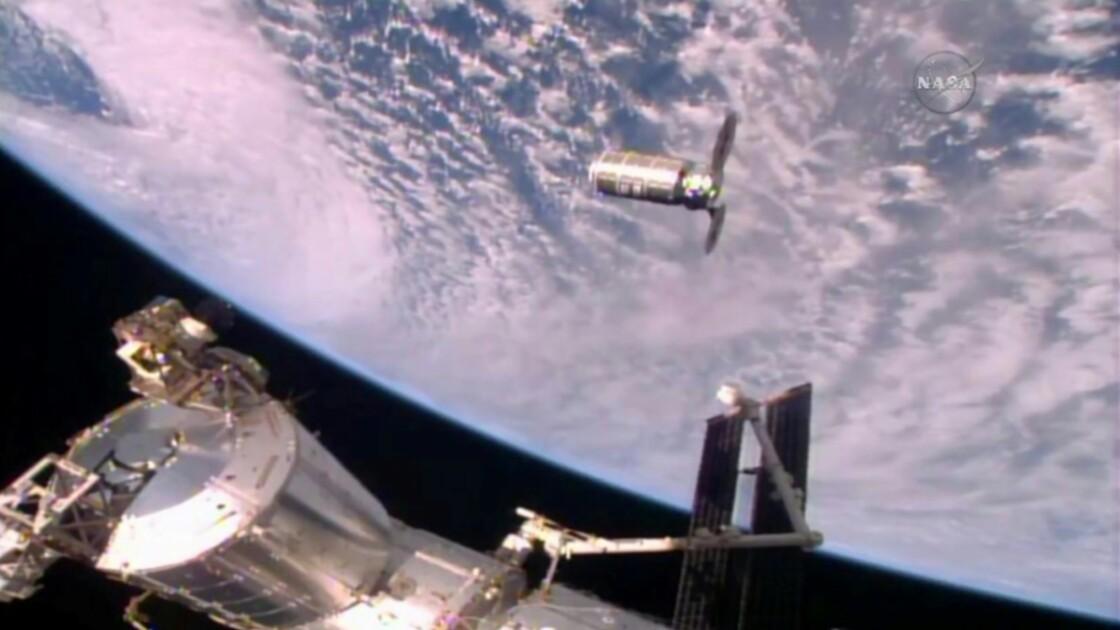 La capsule Cygnus, éphémère laboratoire à incendies dans l'espace