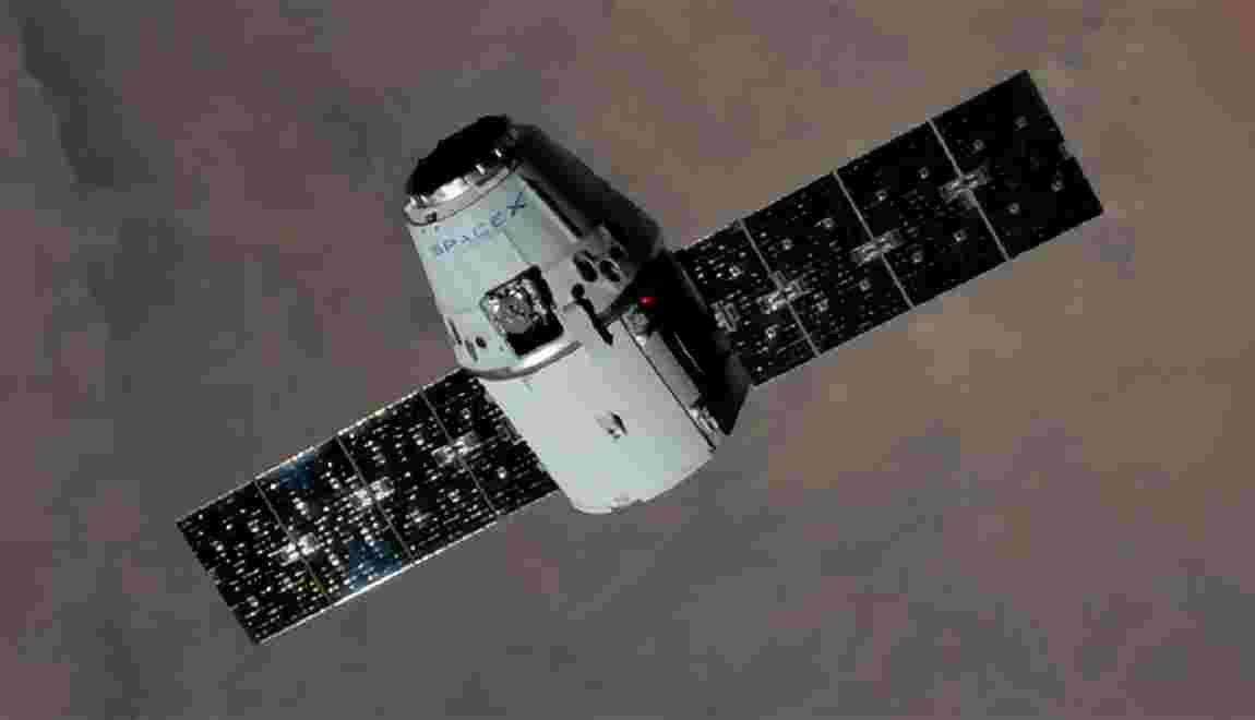 Etats-Unis: la capsule Dragon de SpaceX de retour sur Terre