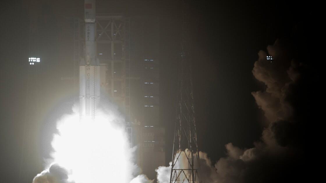 La Chine envoie son premier vaisseau cargo dans l'espace