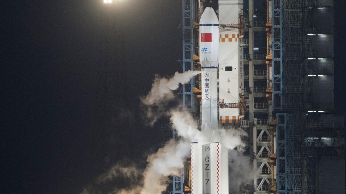 Le premier cargo spatial chinois s'est arrimé au laboratoire de l'espace