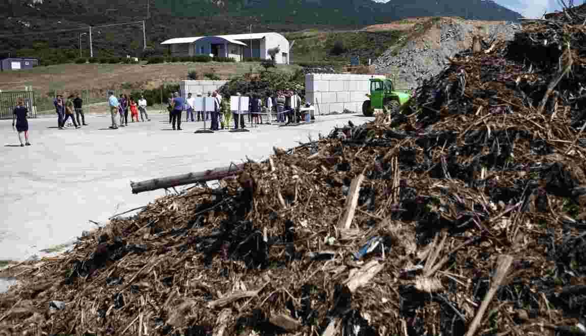 """La Corse investit dans le compostage pour en finir avec le """"tout enfouissement"""""""