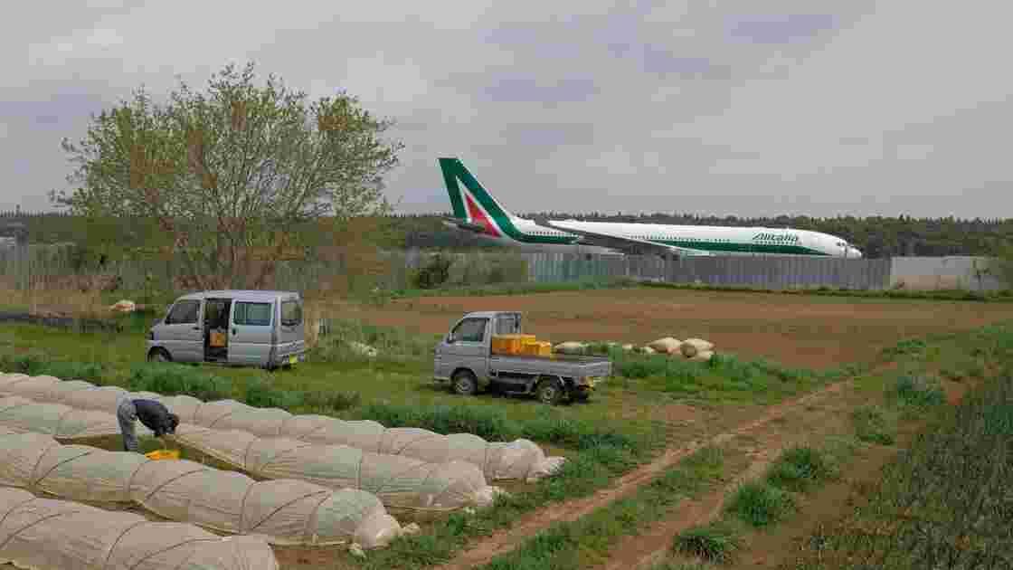 Le combat d'irréductibles fermiers japonais contre l'aéroport de Tokyo-Narita