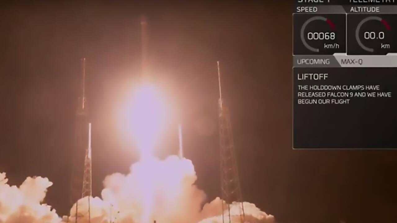 Satellite espion perdu? Pour SpaceX, le lancement s'est bien passé