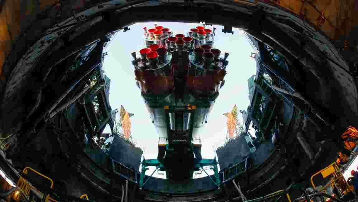 La Russie lance un vaisseau cargo vers l'ISS après un record manqué