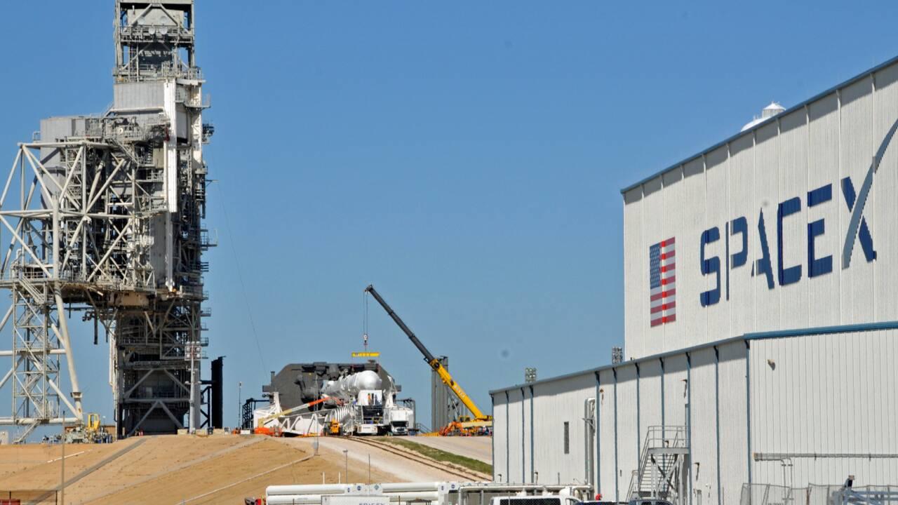 Lancement réussi de la capsule Dragon vers la Station spatiale internationale