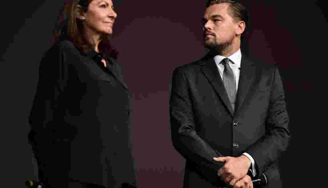 La maire de Paris primée par DiCaprio pour son engagement en faveur du climat