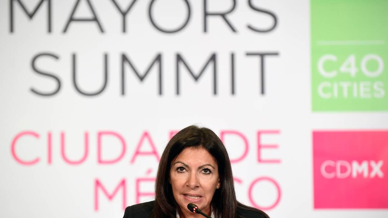 Pollution de l'air: Hidalgo veut interdire le diesel à Paris d'ici 2025