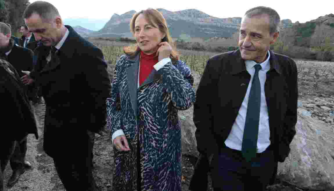 Royal inaugure le parc naturel marin du Cap Corse