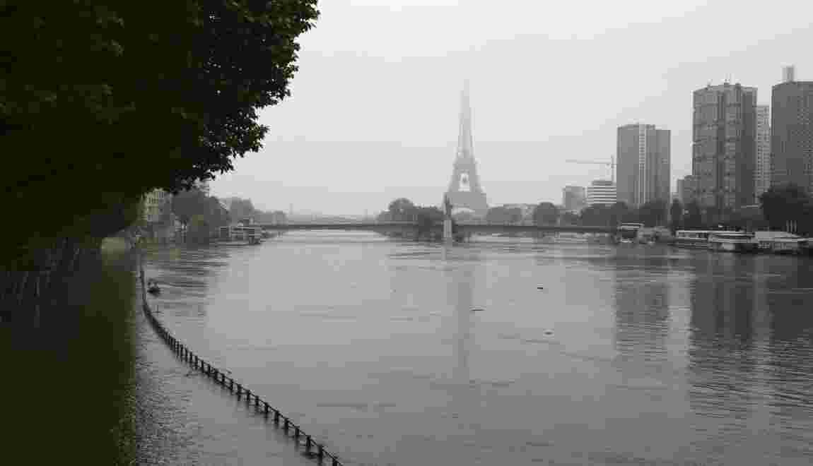 """Crue, canicule ou attentat... Paris lance sa stratégie de """"résilience"""""""