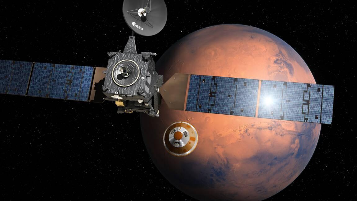 Conquête spatiale: tout se passe bien pour la mission européenne ExoMars