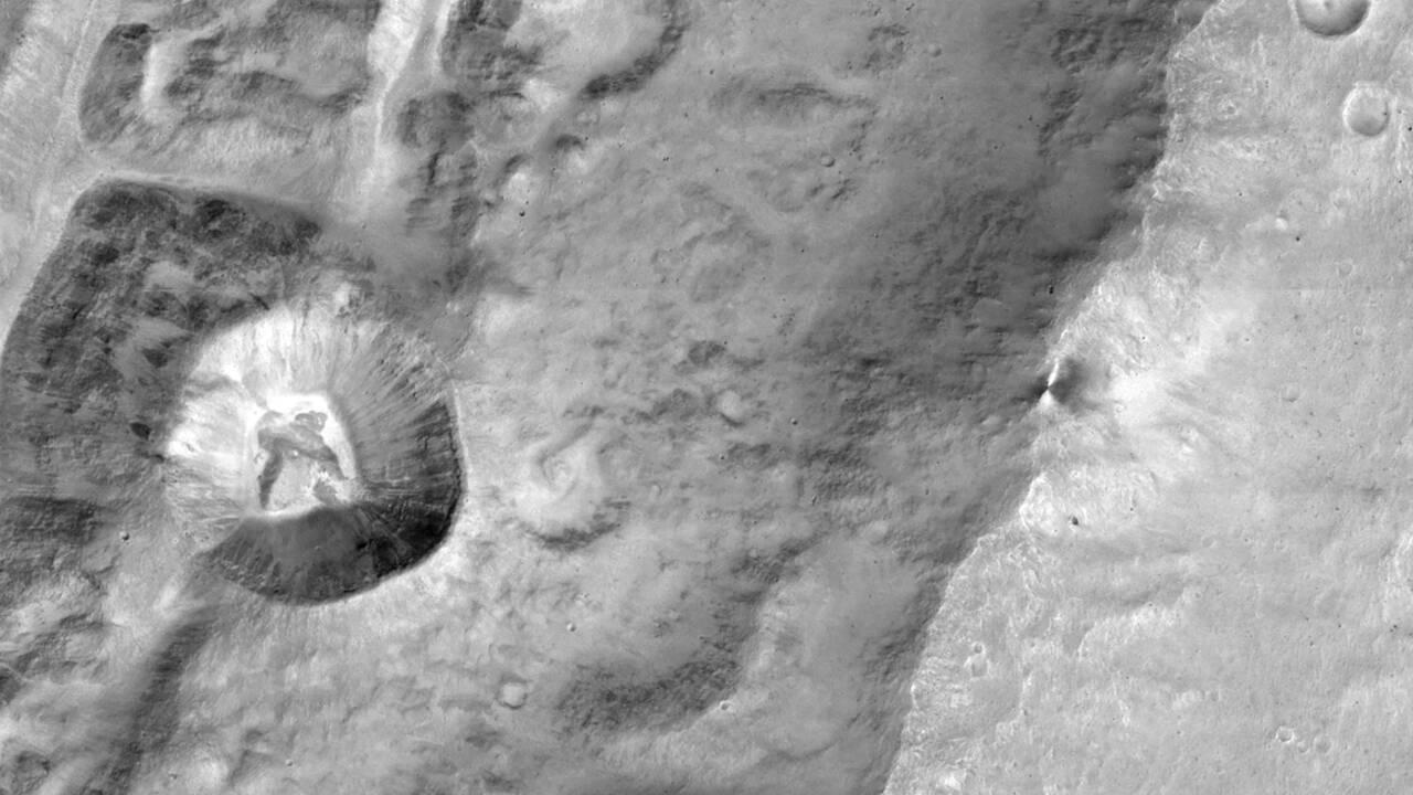 La formation de Mars a été très rapide