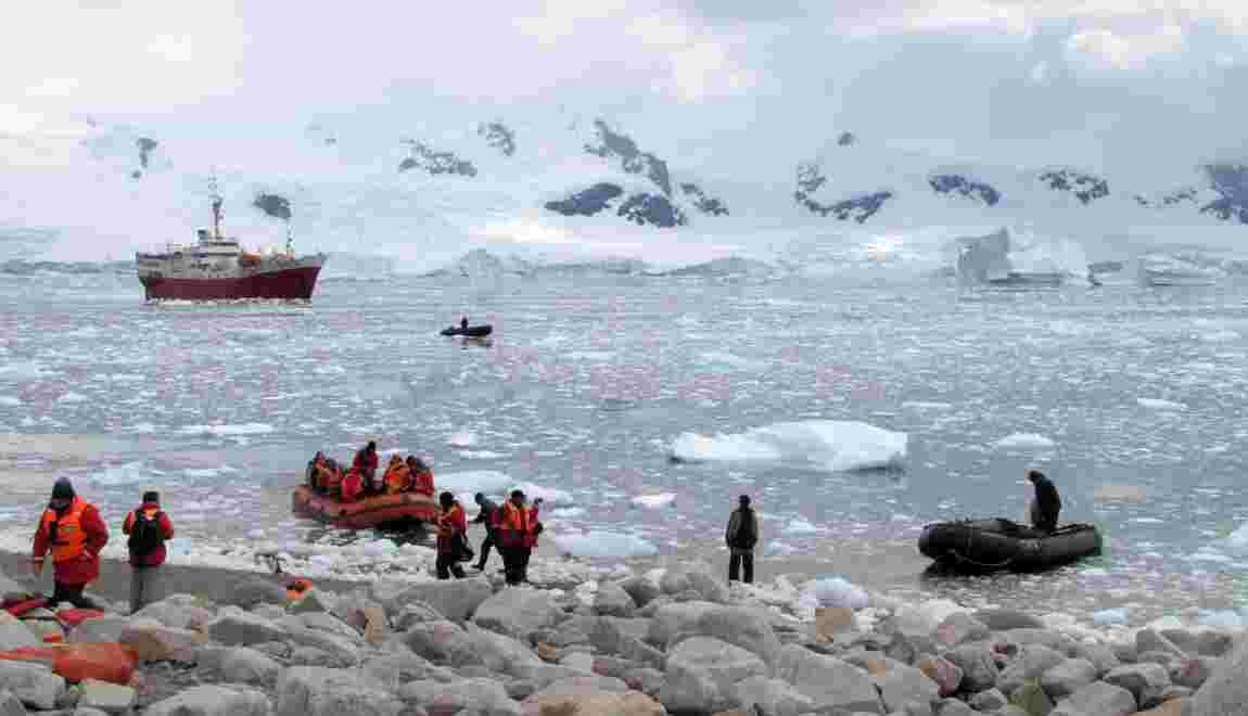 Antarctique: flux et reflux de la banquise australe, un casse-tête pour la navigation