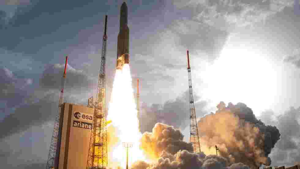 Un mouvement socialentraîne le report du lancement de la fusée Ariane