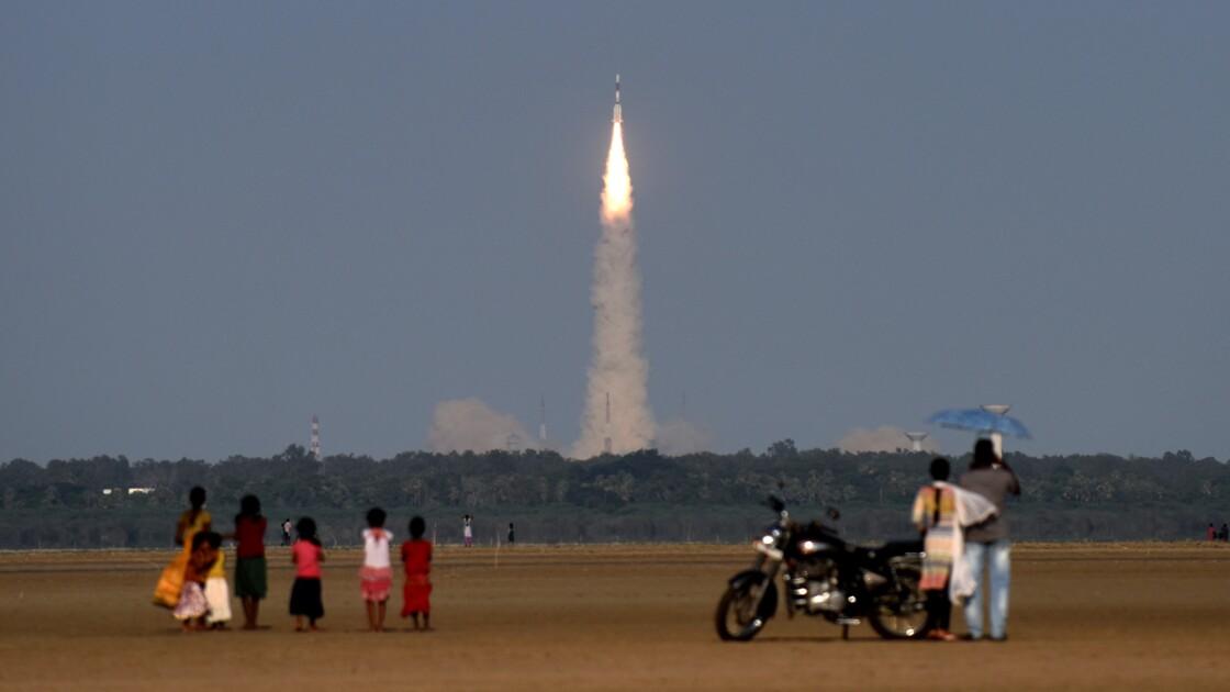 L'Inde va lancer 104 satellites en un vol