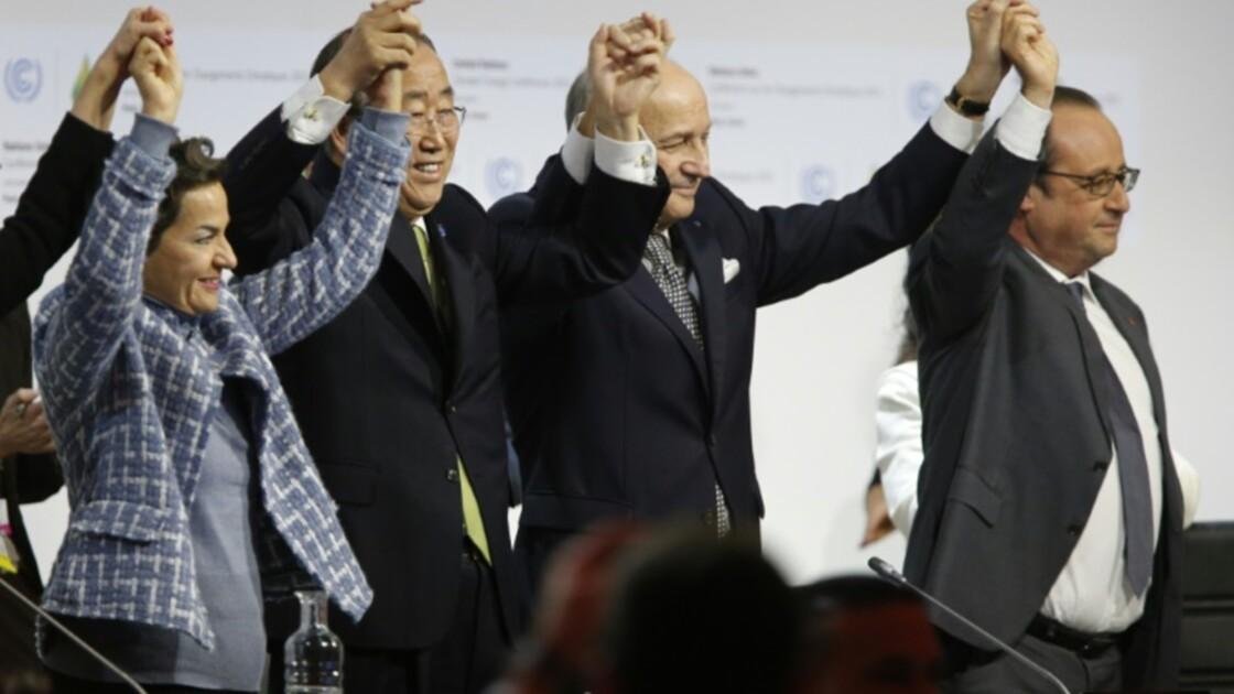 Climat: Hollande célèbre l'entrée en vigueur de l'accord de Paris