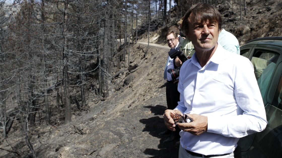 """Incendies: Hulot favorable à """"une force de sécurité civile européenne"""""""