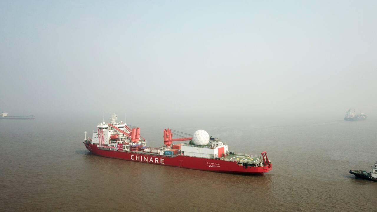 La Chine ambitionne de devenir une puissance en Antarctique