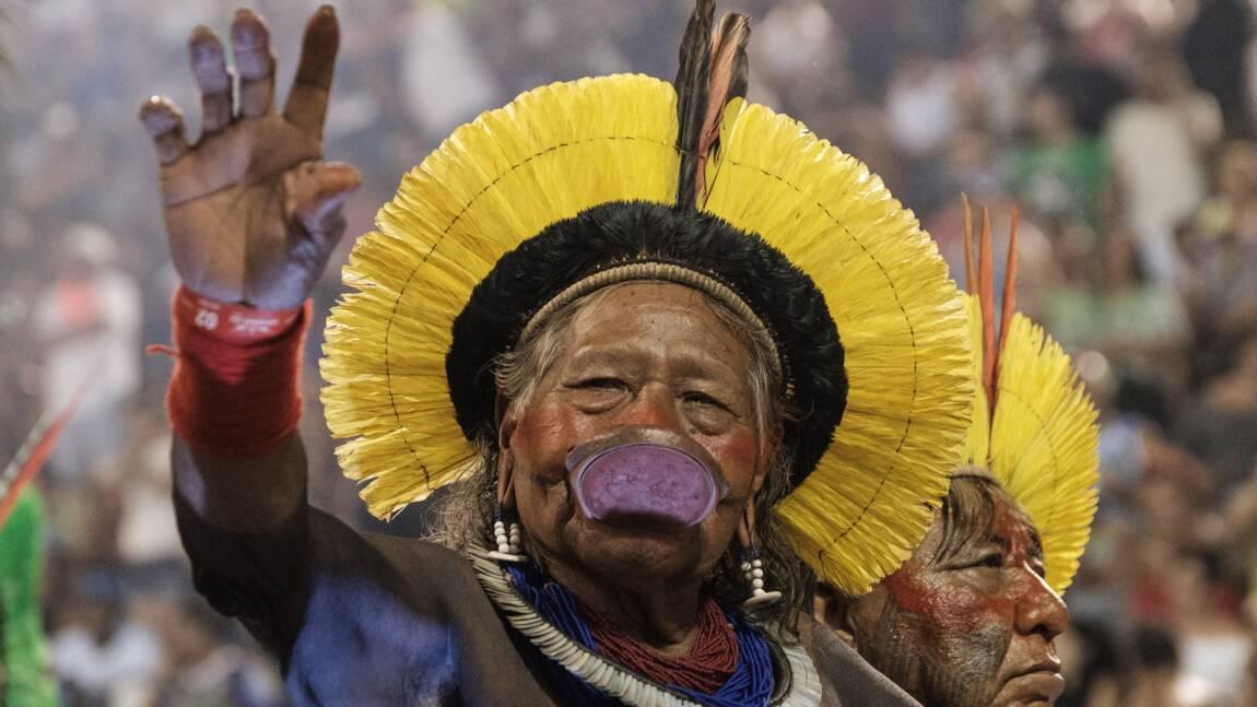 Brésil : pour Raoni, les jeunes Indiens s'éloignent de leur culture