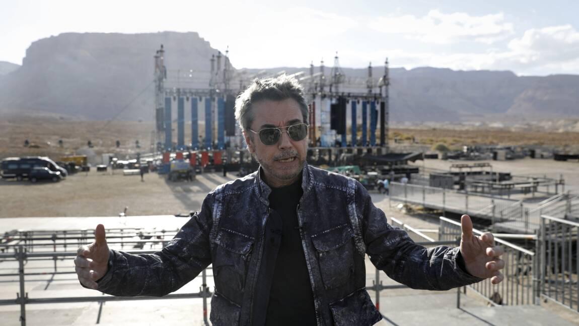 """Israël: Jarre en concert pour la mer Morte et contre """"tous les Trump du monde"""""""