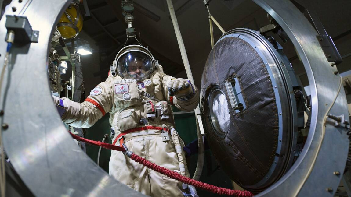 L'entraînement éprouvant des cosmonautes russes