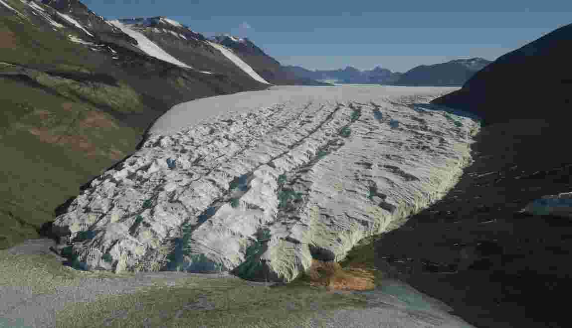 Les glaciers dans le sud de l'Antarctique sont plus stables qu'estimé
