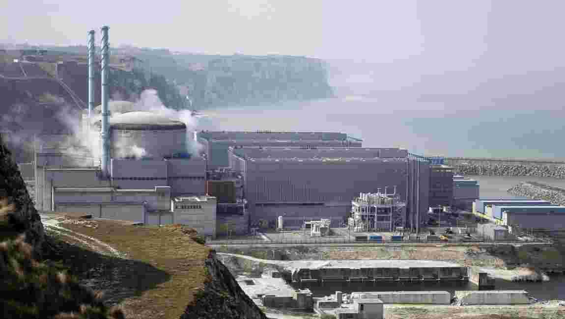 Seine-Maritime: EDF va désensabler une plage proche de la centrale nucléaire de Penly