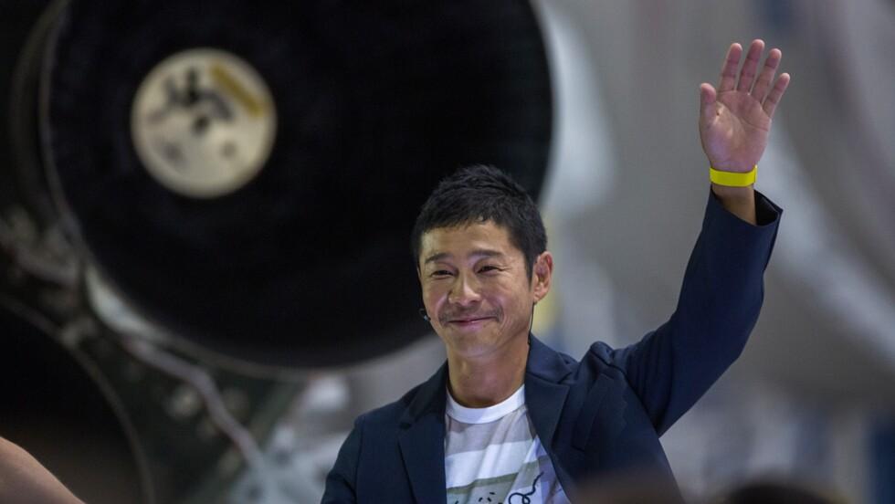 Yusaku Maezawa, le milliardaire japonais ami des artistes