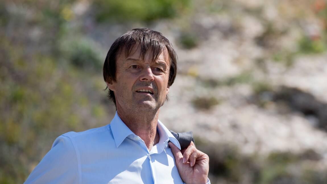 """Hulot veut que la France montre l'exemple pour faire """"la paix"""" avec la nature"""