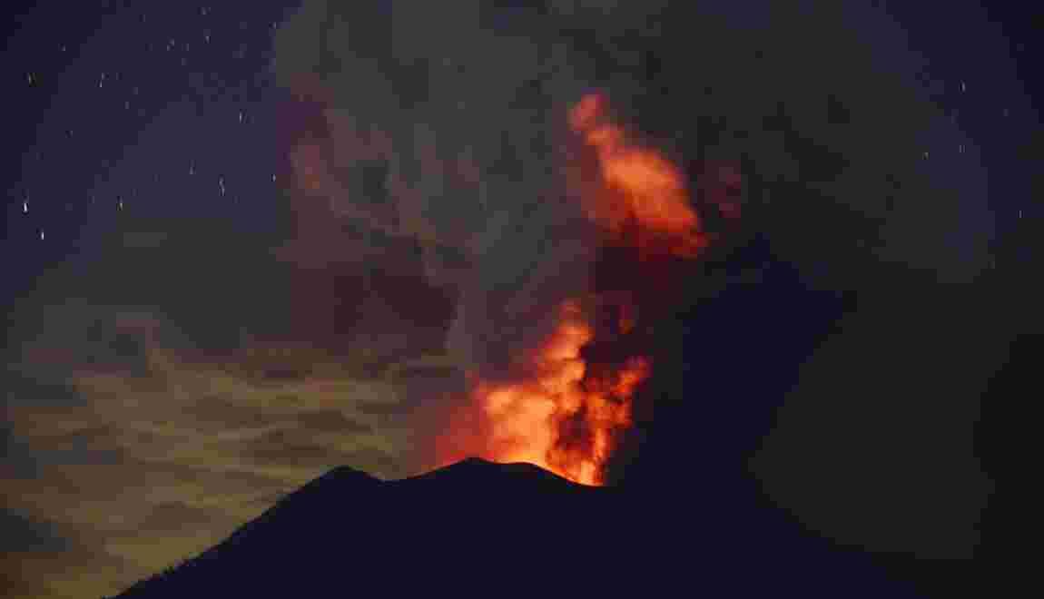 """Les """"super éruptions"""" volcaniques plus fréquentes qu'on ne le pensait"""