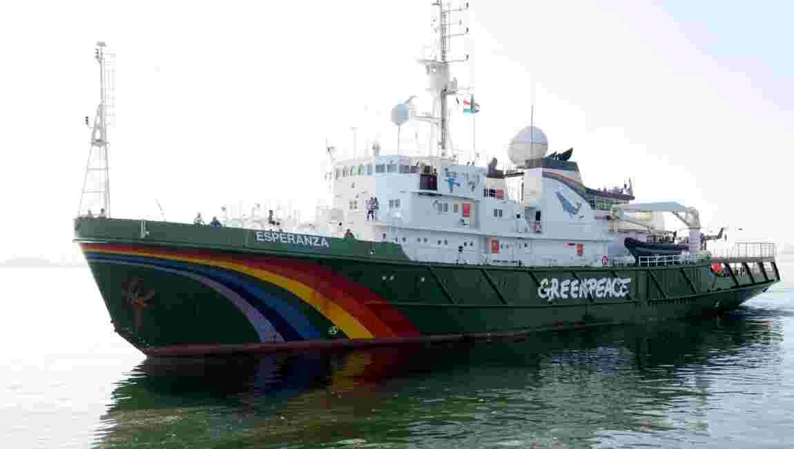 Récif de l'Amazone: Greenpeace repart en expédition, s'oppose aux projets pétroliers