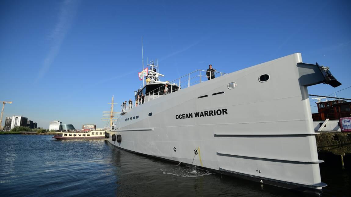 Les navires de Sea Shepherd en route pour défier les baleiniers japonais